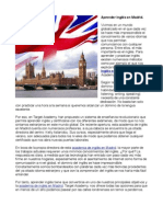 Academia Ingles Madrid