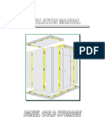 Installation Manual Panel Cold Storage