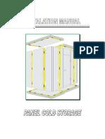 Installation Manual Panel Cold Storage