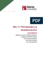Guia Final  MUL 111 TICS Aplicadas a la enseñanza de ELE last2