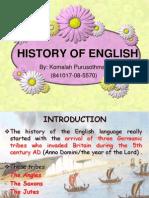 1.History of English
