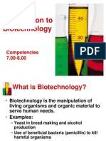 Bar1 Introduction to Biotechnology