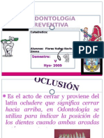 OPSS - Maloclusiones