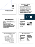 Outcome Assessment Tools B&W Handout