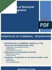 Hormonal Integration