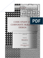 Code Study for corporate building