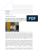 MORADOR DE RUA A ESCRITURÁRIO DO BB