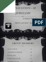 MIS APP - M-Jewelery Group 10