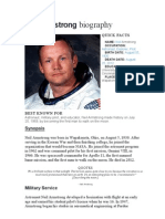 neil armstrong biography