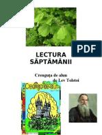 LECTURA   SÃPTÃMÂNII -12