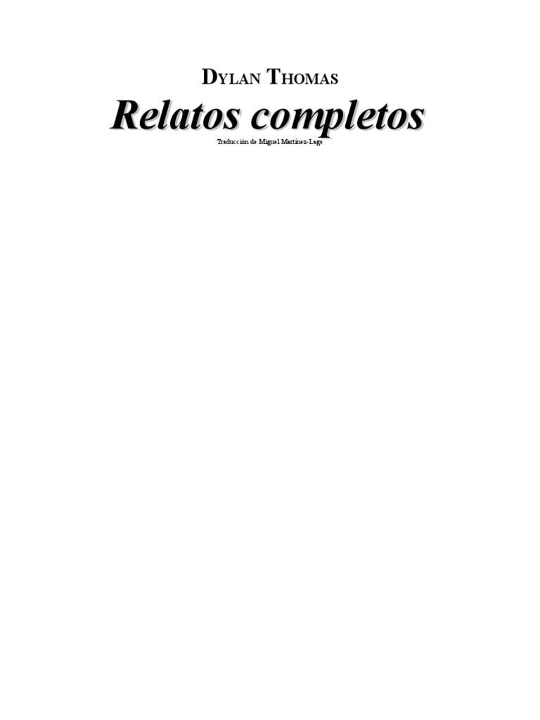 3ae9e73f3 Dylan Thomas - Relatos Completos