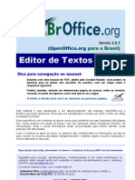 BrOffice Writer Manual