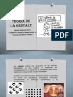 TEMA 3 Teoría de la Gestalt
