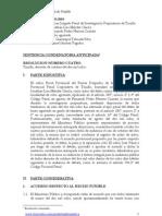Expediente 1645-2008.La Libertad. Modificación convencional de la calificación jurídico penal en la terminación anticipada