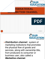 International Distribution Channel