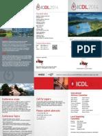 Icdl2014 1st Call
