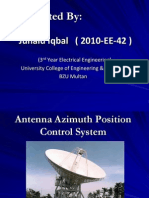 Antenna Azimuth Position Control System