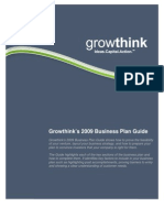 Growthink Business Plan Guide