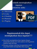 14.Teknik-Teknik Meningkatkan Ingatan