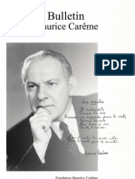 Bulletin Maurice Carême, n° 58, 2012