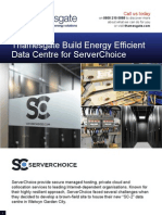 Thamesgate-Build Energy Efficient Data Centre for Server Choice