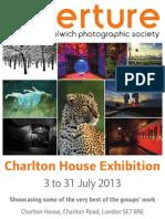 Charlton House AWPS Exhibition 2013