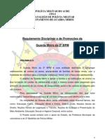 4 -Regulamento Disciplinar e de Promoções da Guarda Mirim do 2 BPM