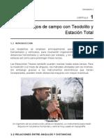 CAPITULO 1 - Trabajos de Campo Con Teodolito y Estacion Total