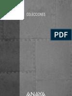 Catalogo Anaya Colecciones