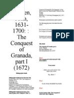 Dryden Conquest of Granada