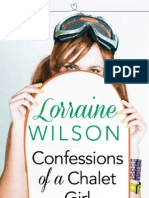 Confessions of a Chalet Girl - Lorraine Wilson - Extract