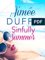 Sinfully Summer - Aimee Duffy - Extract