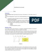 Fluid Mechanics Chemical