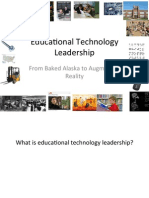 Ed Tech Leadership Presentation