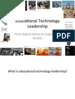 Ed Tech Leadership Presentation