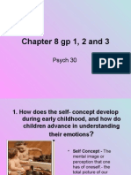 Chapter 8 Gp 1, 2 and 3