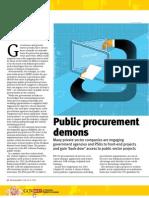 Public Procurement Demons