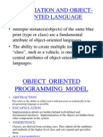 Object Oriented Programming Model 1