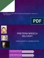 Preterm Breech