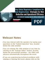 Ensuring Global Reg Compl 4 Product Reg
