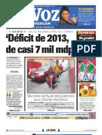 La Voz Cemide 3 Julio 2013