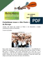 Corinthians vence o São Paulo e leva o título da Recopa