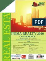 Brochure India Realty 2010
