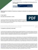 Educación superior por competencias, constructivismo y tecnologías de la información y las comunicaciones (TIC). Una visión integrada