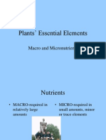 (24.01) Plant Essential Elements