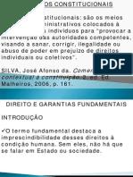 416 Remedios Constitucionais Ate Part Politicos Basico Tribunais