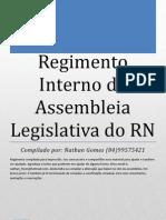 Regimento Interno Da AL-RN Compilado.