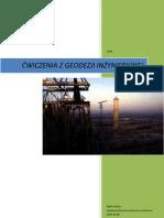 ćwiczenia z geodezji inżynieryjnej - Rafał Kocierz AGH 2008