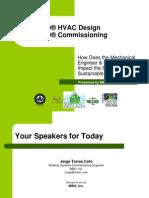 Leed Hvac Design & Leed Commissioning - Jorge - Mbo - Smri