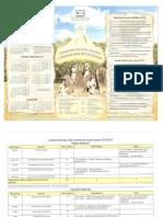 Calendario del DE 2013-2014